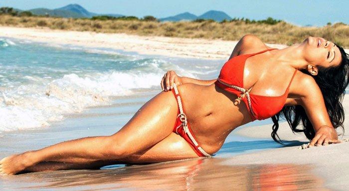 Wunschfrau am Strand